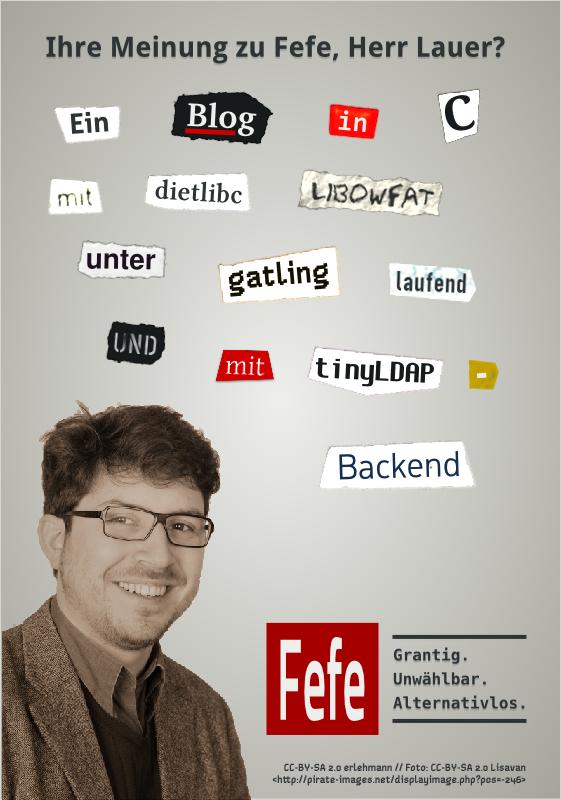 Ein Blog in C, mit dietlibc, libowfat, unter gatling laufend und mit tinyLDAP-Backend.