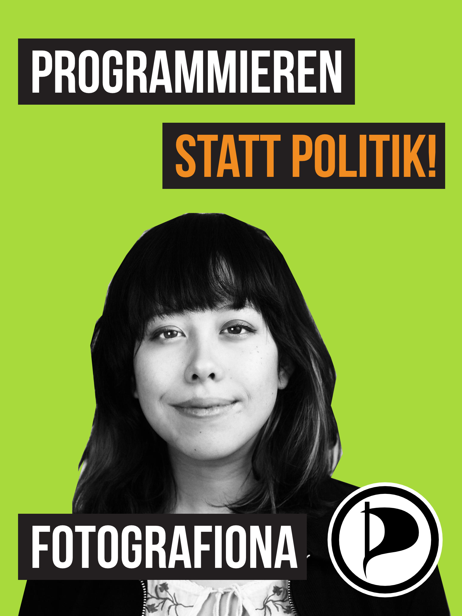 Programmieren statt Politik! Fotografiona