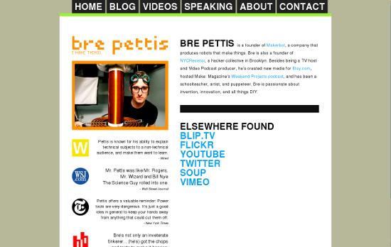 unmodifiziertes Bildschirmfoto von http://brepettis.com